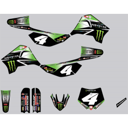 Kit deco RFZ N-STYLE Monster BLAKE BAGGETT