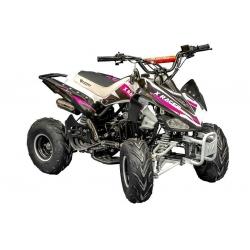 Quad X Race 125cc - Rose (Marche arrière)