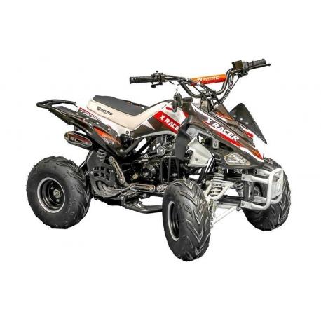 Quad X Race 125cc - Noir / Rouge (Marche arrière)