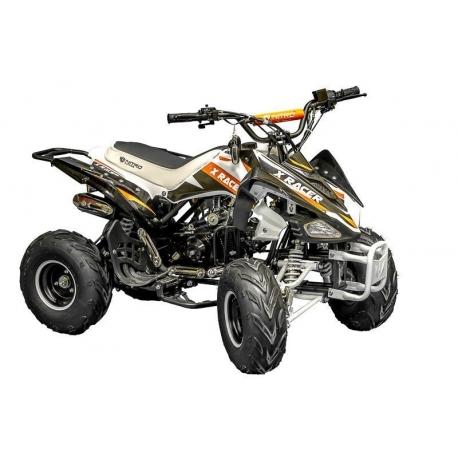Quad X Race 125cc - Noir / Orange (Marche arrière)