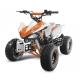 """Quad X Race 125cc 8"""" - Orange (Marche arrière)"""