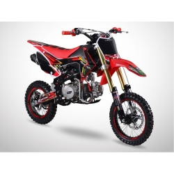 Dirt bike GunShot 125cc FX - Edition Monster - Rouge 2018