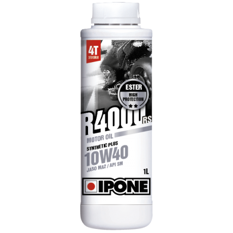 Huile IPONE R4000 4 temps 10w40 - 1 Litres