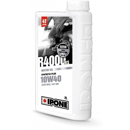 Huile IPONE R4000 4 temps 10w40 - 2 Litres