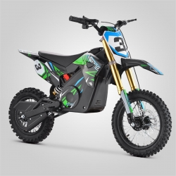 Dirt bike enfant Apollo RFZ Rocket 1000w 2020 - Vert